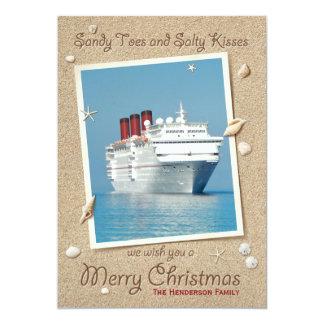 Sandy botte la carte salée de Joyeux Noël de