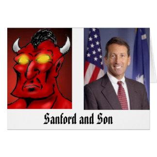 Sanford et fils carte de vœux