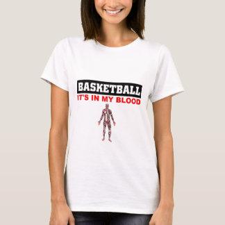 Sang de basket-ball t-shirt