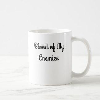 Sang de ma tasse de café d'ennemis