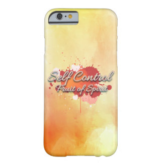 Sang-froid, fruit de l'esprit coque iPhone 6 barely there