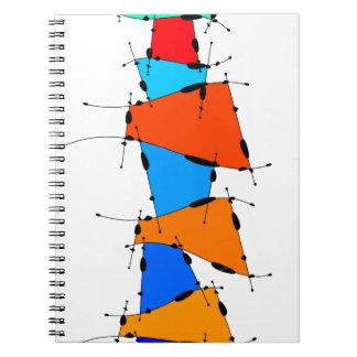 Sanomessia - cubes de fonte carnets