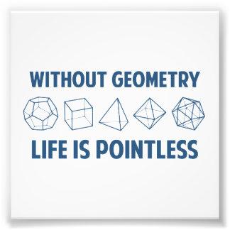 Sans géométrie la vie est injustifiée photographes