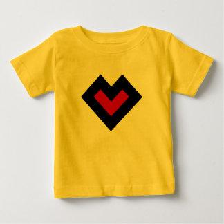 Sans le coeur t-shirt pour bébé