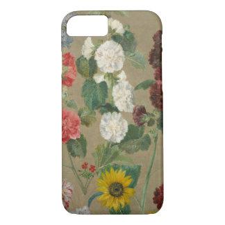 Sans titre (fleurs) (huile à bord) coque iPhone 7