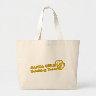Santa Cruz buvant des tee - shirts d équipe Sac De Toile