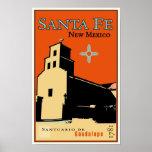 Santa Fe, Nouveau Mexique, Etats-Unis Posters