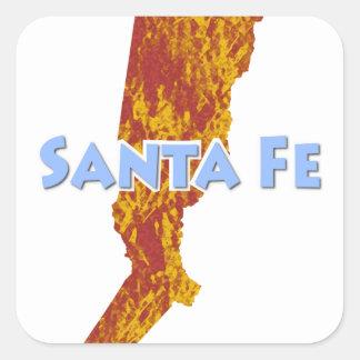 Santa Fe Sticker Carré