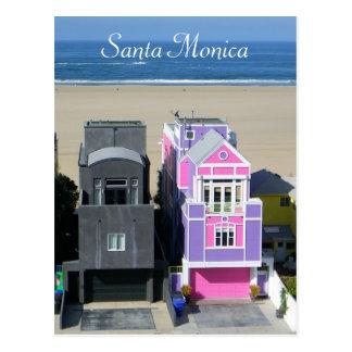 Santa Monica fraîche loge la carte postale !