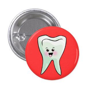 Santé dentaire de dentiste drôle badge rond 2,50 cm