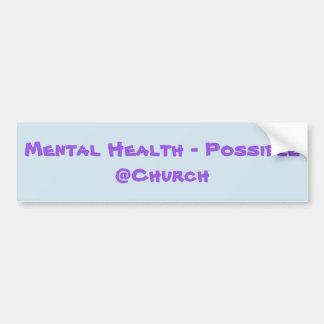 Santé mentale - autocollant possible de @Church