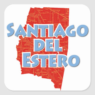 Santiago del Estero Sticker Carré
