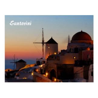Santorini Carte Postale