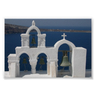 Santorini - cloches posters