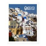 Santorini, Grèce Carte Postale