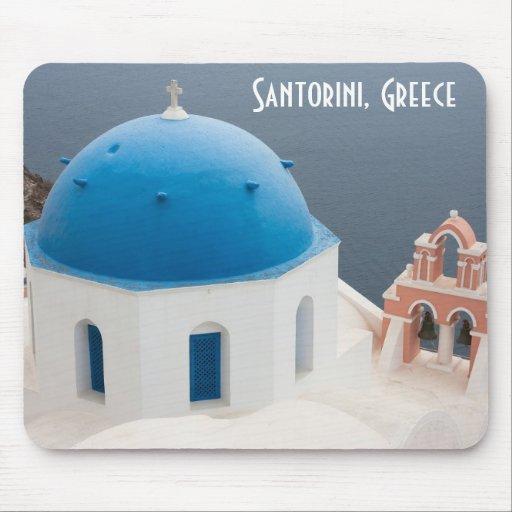 Santorini Mousepad Tapis De Souris