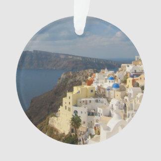 Santorini pendant l'après-midi Sun