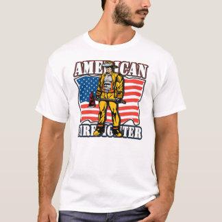 Sapeur-pompier américain t-shirt