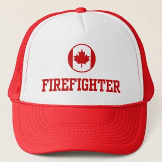 Sapeur-pompier canadien casquette