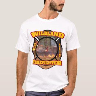 Sapeur-pompier de terres non cultivées t-shirt