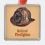 Sapeur-pompier retraité décoration de noël