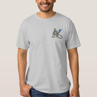 Sapeurs-pompiers T-shirt Brodé