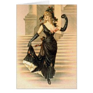 Sapho 1900 carte de vœux