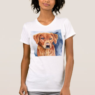 Sara le T-shirt de golden retriever