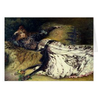 Sarah Bernhardt 1871 Carte De Vœux
