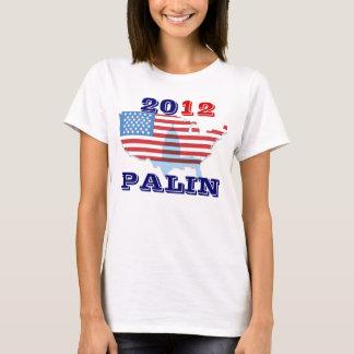 Sarah Palin 2012 dames, dessus de T-shirt de