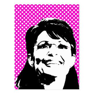 Sarah Palin 3 Carte Postale