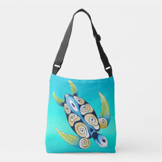 sarcelle d'hiver de turquoise de tortue sac