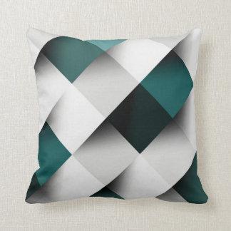 Sarcelles d'hiver/motif géométrique gris coussin