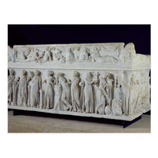 Sarcophage avec la frise des neuf Muses Carte Postale