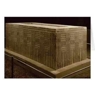 Sarcophage de gardon d'Abu (chaux) (voyez Carte De Vœux