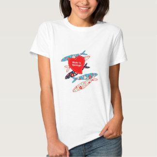 Sardines fabriquées au Portugal T-shirt