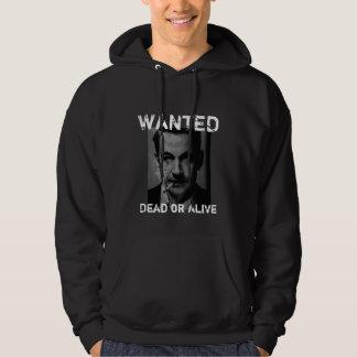 sarko wanted hoodie veste à capuche