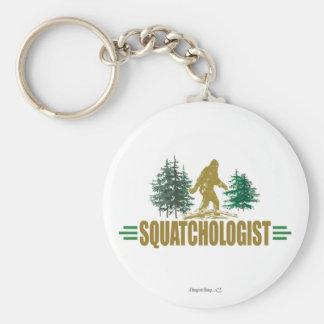 Sasquatching drôle, chasseur de Sasquatch Porte-clés