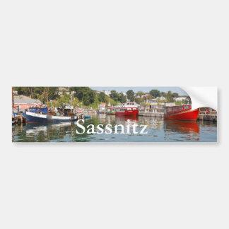Sassnitz sur Rügen Autocollant De Voiture