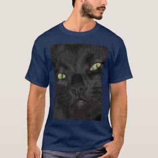 Sassydog demonseed le T-shirt de chat noir