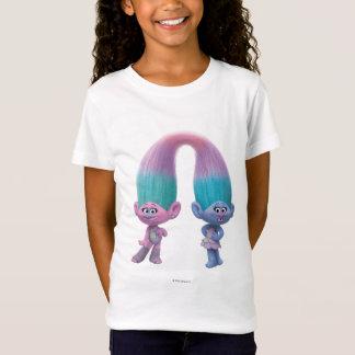 Satin et Chenille des trolls | T-Shirt