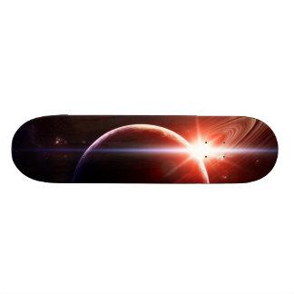"""Saturn brillant "" Plateaux De Skateboards Customisés"