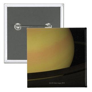 Saturn et ses anneaux badge