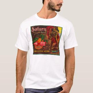 Saturn LabelUpland orange, CA T-shirt
