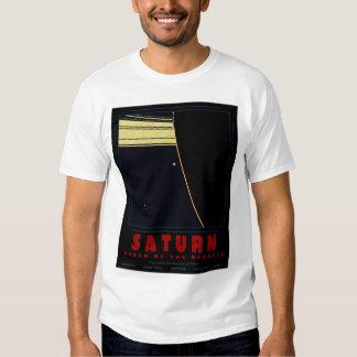 SATURN, reine du T-shirt de planètes