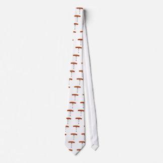 saucisse coincée dans la fourchette cravate