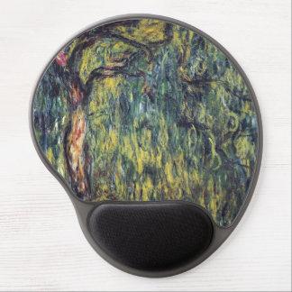 Saule pleurant par Claude Monet, beaux-arts Tapis De Souris Avec Gel