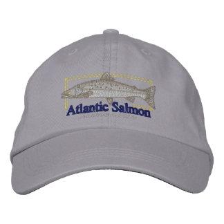Saumon atlantique casquette brodée