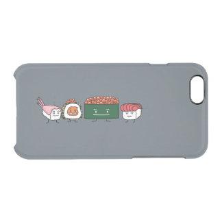 Saumon japonais de crevette de sushi de riz coque iPhone 6/6S