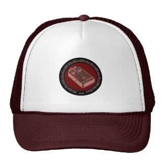 Saumon/rouge de rose de pédale de déformation casquettes de camionneur